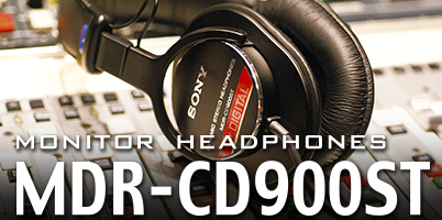 MONITOR HEADPHONES MDR-CD900ST